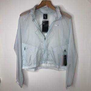 Nike Repel Rain Repellent Reflective Jacket Size L